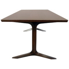 Peter Hvidt and Orla Molgaard France and Sons Danish Rosewood Coffee Table 1960s