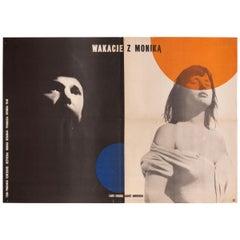 Vintage Polish Summer with Monika by Wojciech Zamecznik for CWF, 1958