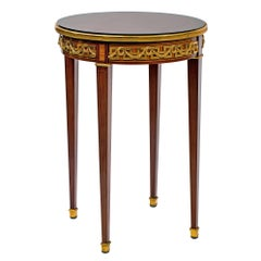 19th Century French Bronze Mounted Bouillotte Table