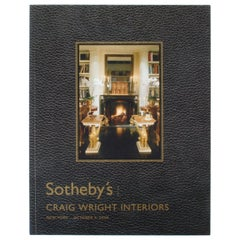 Sotheby's: Craig Wright Interiors, New York: October 4, 2006