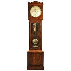 Fine Mahogany Regulator Longcase Tall Case Clock