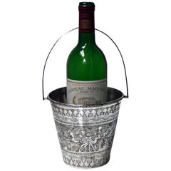 Egyptian Silver Wine Bucket, circa 1920