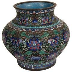 1910 Cloisonné Vase