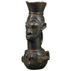 Kuba Tribal African Palm Wine Cup, Congo, Africa