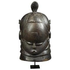Mende Bundu Helmet Mask, Sierra Leone