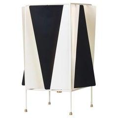 Greta Grossman B-4 Table Lamp, Black / White