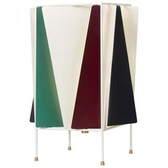 Greta Grossman B-4 Table Lamp, Italian Green