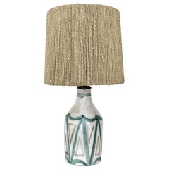 French Ceramic Table Lamp by Robert Picault from Vallauris