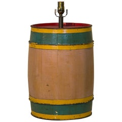 Carnival Barrel Table Lamp