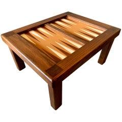Vintage Backgammon Table