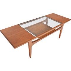 G Plan Fresco Surfboard Coffee Table in Teak