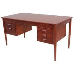 Borge Morgensen Teak Executive Desk