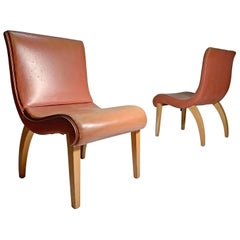 Pair of 1940s Lounge or Side Chairs Attributed to Gilbert Rohde