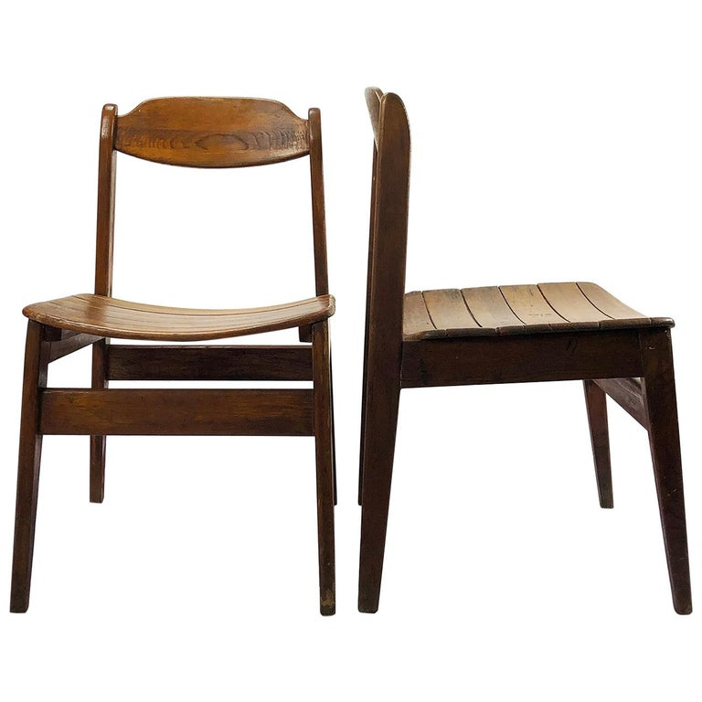 Pair of Chairs Model Pine 500 by Michael Van Beuren For Sale
