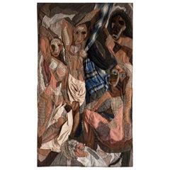 Tapestry 'Les Demoiselles d'Avignon'