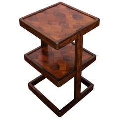 Don Shoemaker Two-Tier Occasional Table or Shelf