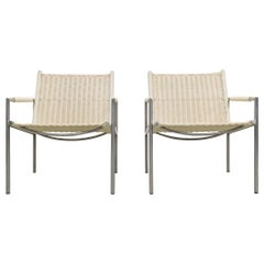 Set of 2 Minimalistic Martin Visser for 't Spectrum Lounge Chairs, 1960s