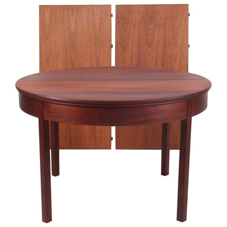 Kaare Klint Extension Table, Solid Cuba Mahogany, Rud Rasmussen, 1930s For Sale