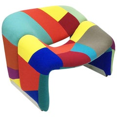 F598, The Groovy Lounge Chair by Pierre Paulin for Artifort, the Netherlands