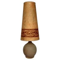 Midcentury German Ceramic Floor Lamp, 1960s