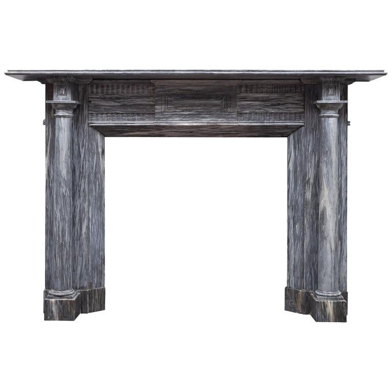 Irish Regency Fireplace For Sale