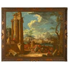 Early 18th Century Capriccio Landscape