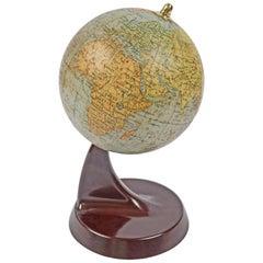Italian Globe by Vallardi Publisher, 1930s