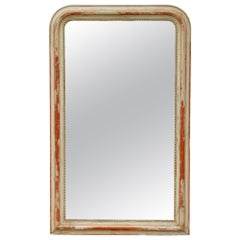 Large 19th Century Louis Philippe Mirror with Original Reflector