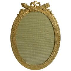 Antique French Gilded Bronze Photograph Frame, circa 1910