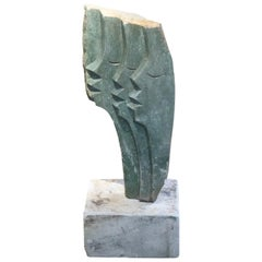 Modern Stone Sculpture by C. Marinse
