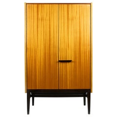 Small Midcentury Wardrobe by František Mezulaník for UP Bucovice, 1960s