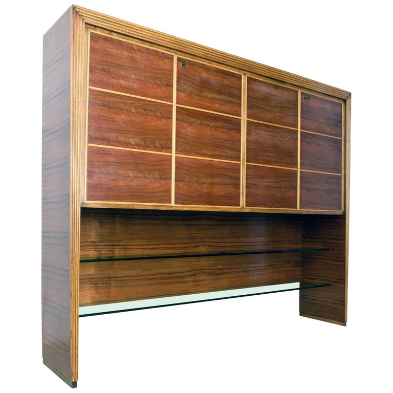 Large cabinet by mobili saragoni milano style of gio - Gio ponti mobili ...