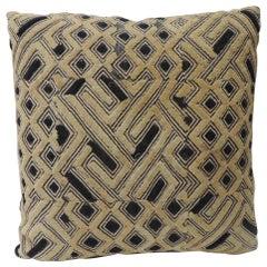 Kuba Square African Textile Decorative Pillow