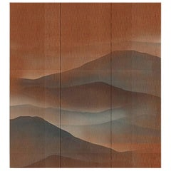 Oriental Mountains Wallpaper