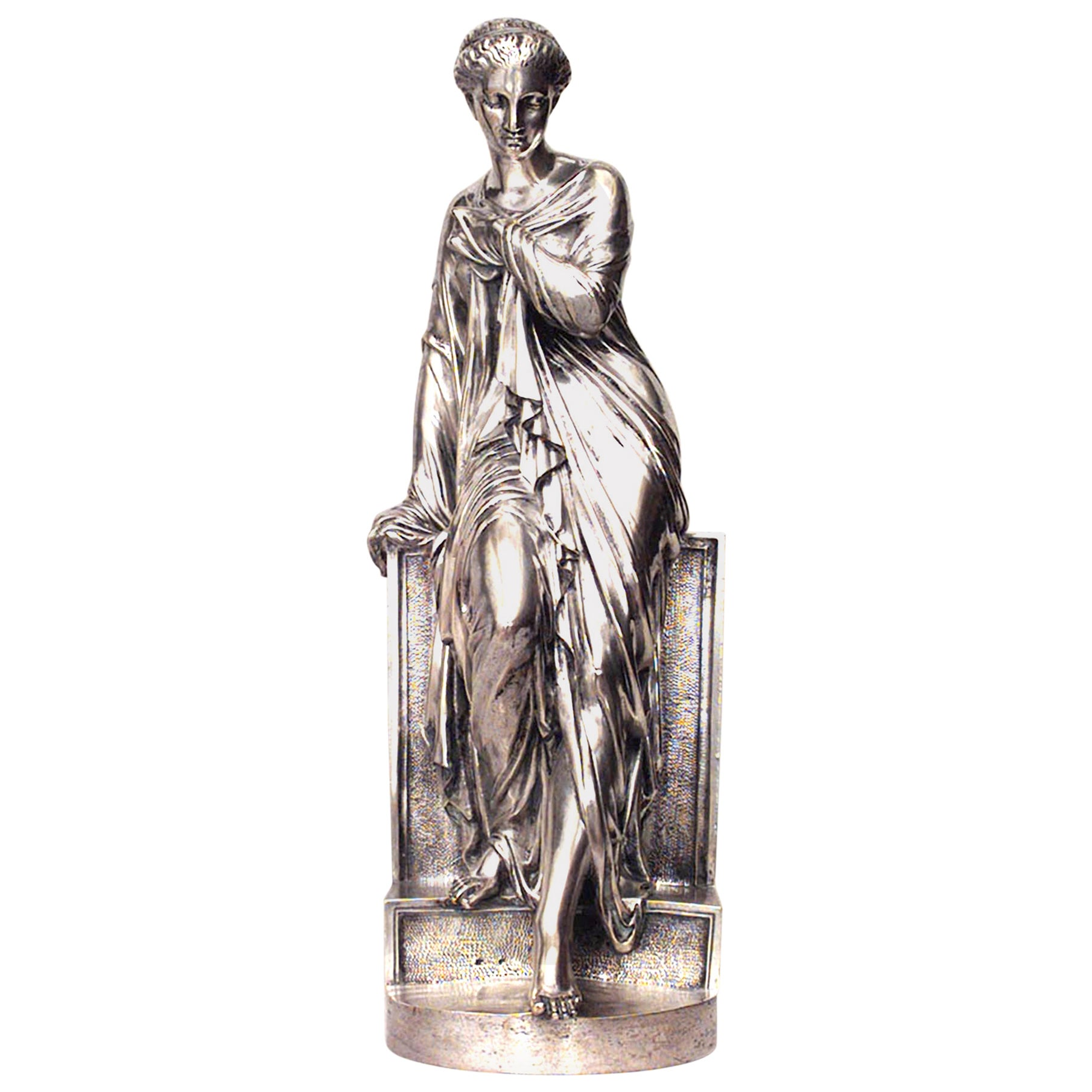 Italian Neoclassic Figure of Classic Greek Women