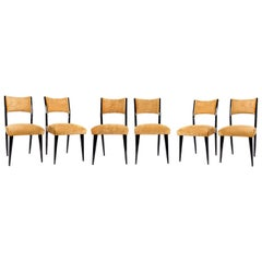 Set of 6 Midcentury Dining Chairs
