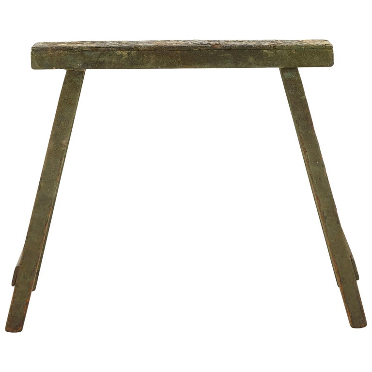 Spanish Wooden Sawhorse For Sale