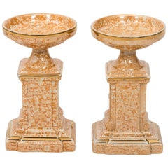 Pair of Art Deco Ceramic Urns, circa 1930s