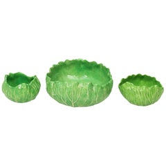 Set of Dodie Thayer Lettuce Bowls