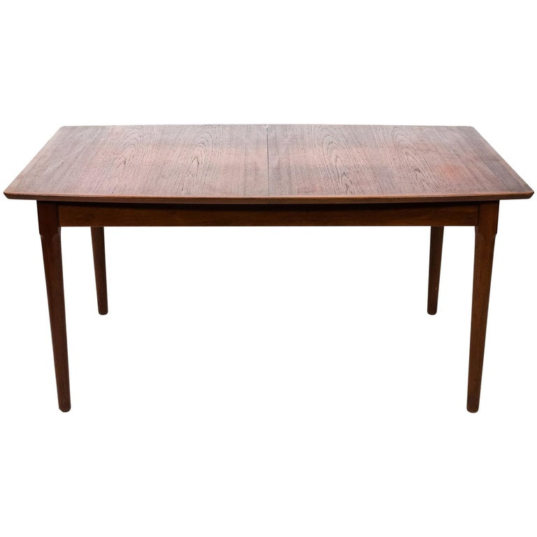 Mid Century Modern Teakwood Dining Table Circa 1960 For Sale At 1stdibs