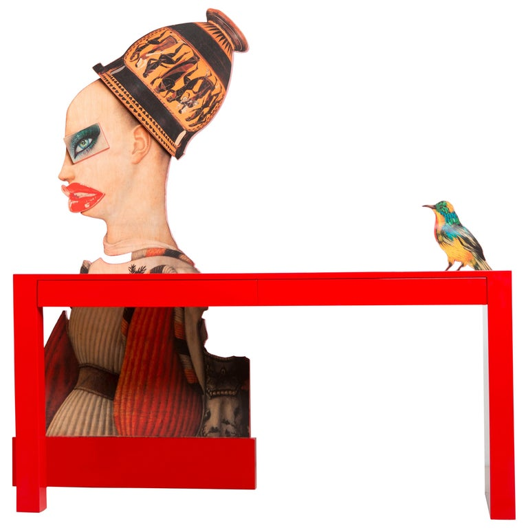 Little Bird Told Me Desk by Mattia Biagi For Sale