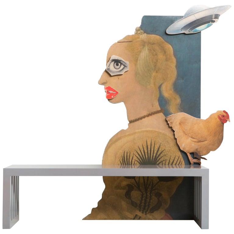 La Strada Bench by Mattia Biagi For Sale
