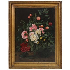 19th Century Flower Painting