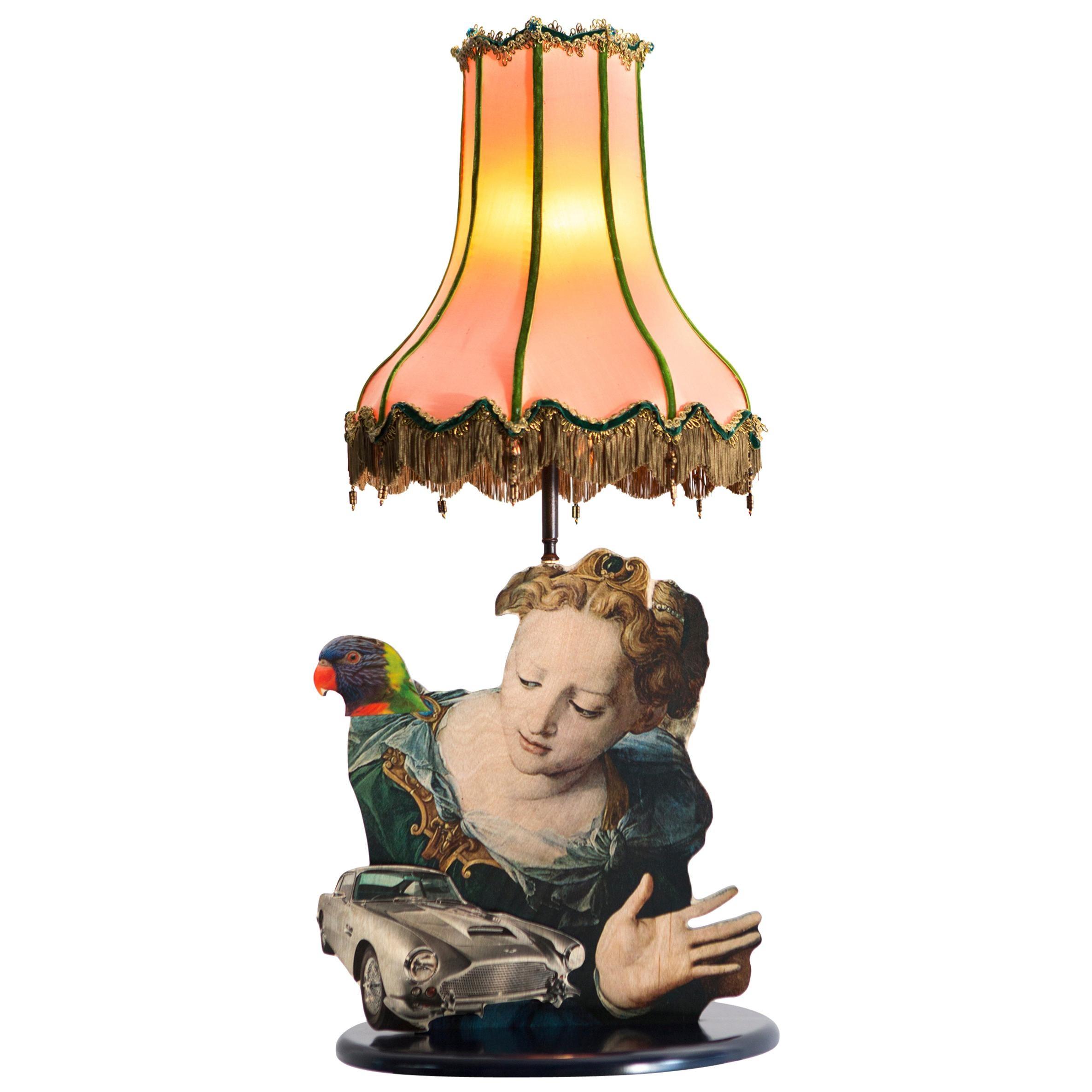 """Repeat After Me"" Table Lamp by Mattia Biagi"