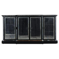 1970s Mirrored Regency Style Sideboard