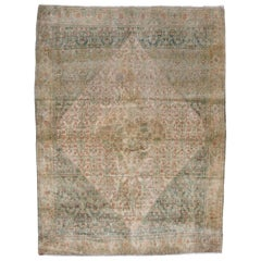 Fine Antique Persian Senneh Rug, circa 1900s