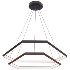 Ditri Cascade DXC43, Hexagon Modern Chandelier Light Fixture