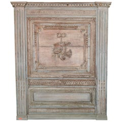 18th Century French Architectural Panel