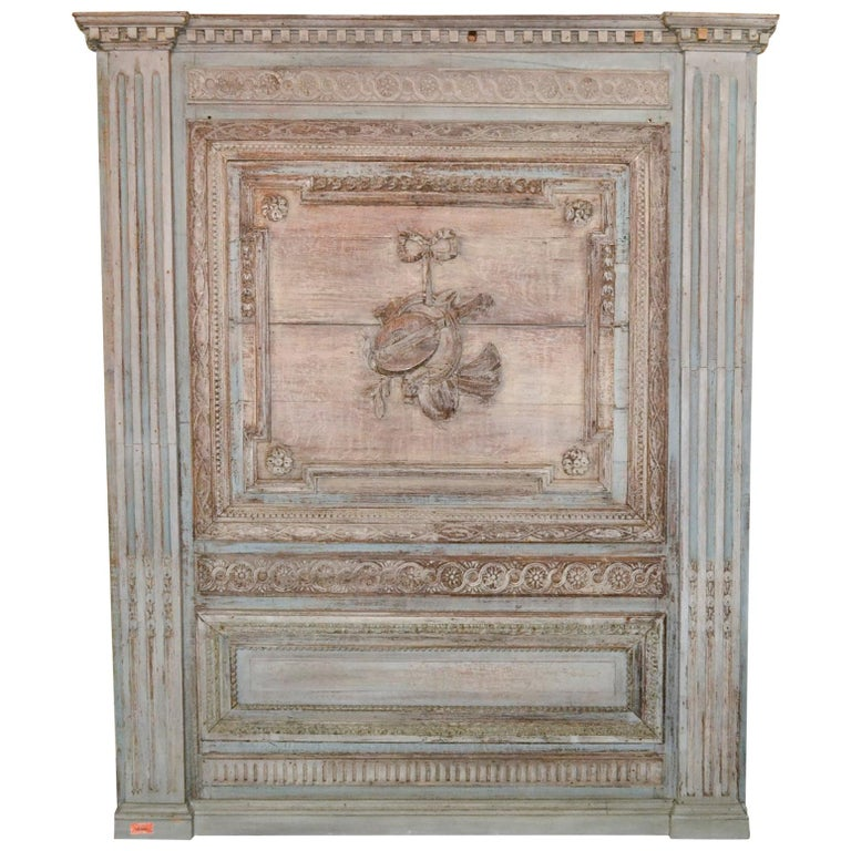 18th Century French Architectural Panel For Sale