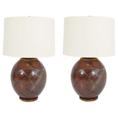 Pair of Brent Bennett Table Lamps